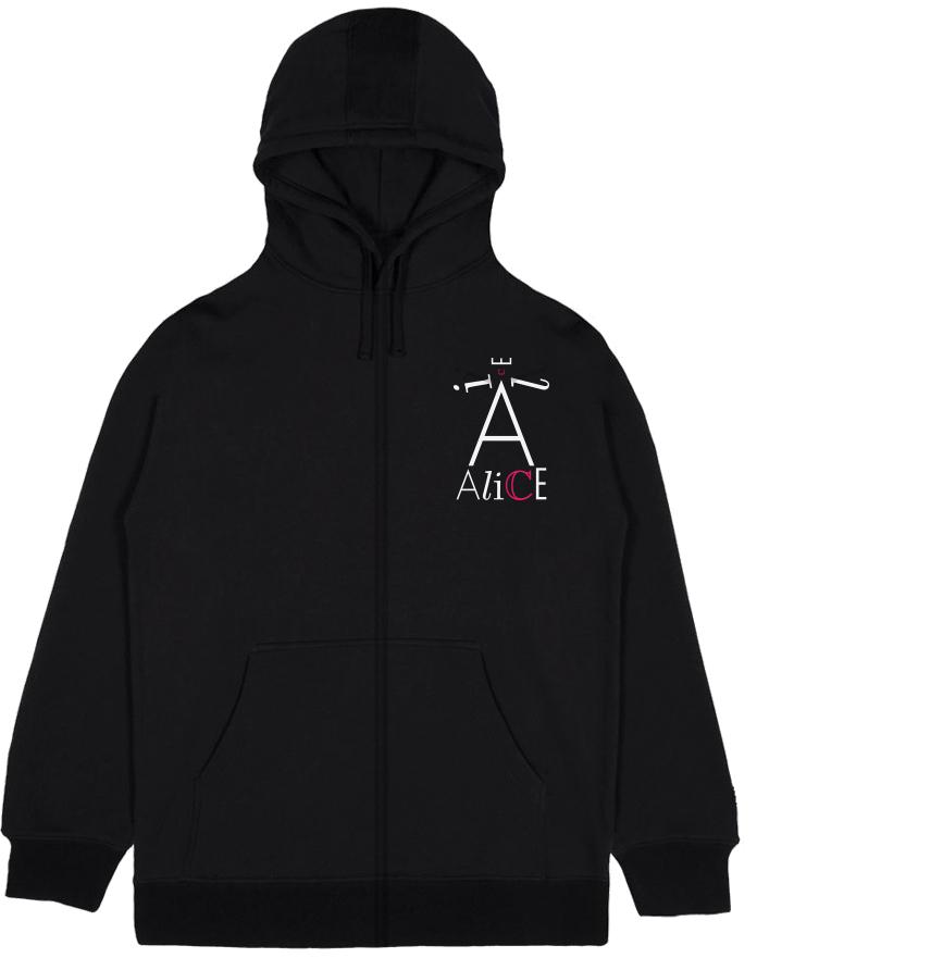 Veste à capuche adulte - Design logo poitrine