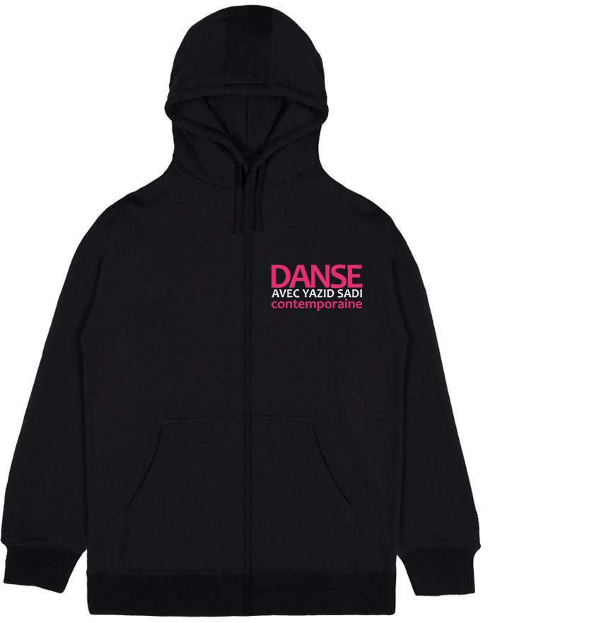 Veste à capuche adulte - Design logo au dos